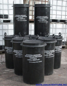 Фильтры очистки поверхностного стока ФОПС® перед их монтажом у заказчика.